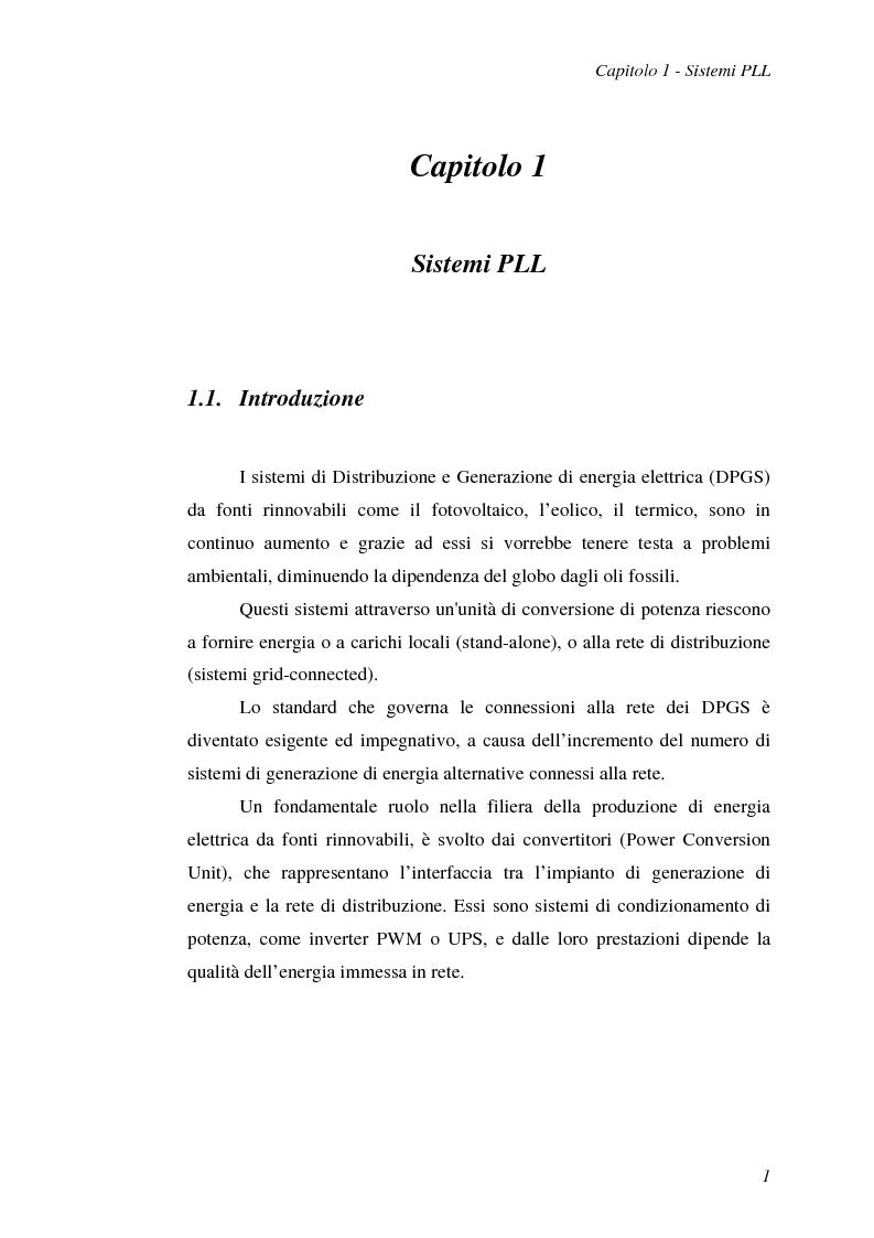 Anteprima della tesi: Implementazione su DSP TMS320F2812 di tecniche di sincronizzazione monofase, Pagina 4