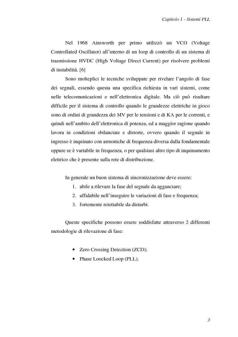 Anteprima della tesi: Implementazione su DSP TMS320F2812 di tecniche di sincronizzazione monofase, Pagina 6