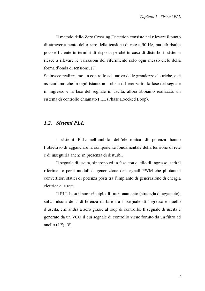 Anteprima della tesi: Implementazione su DSP TMS320F2812 di tecniche di sincronizzazione monofase, Pagina 7