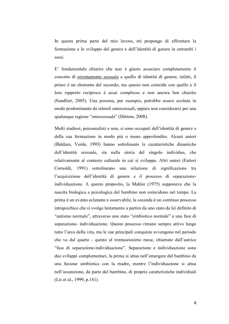 Anteprima della tesi: Disturbo dell'identità di genere: attuali direzioni di ricerca, Pagina 4