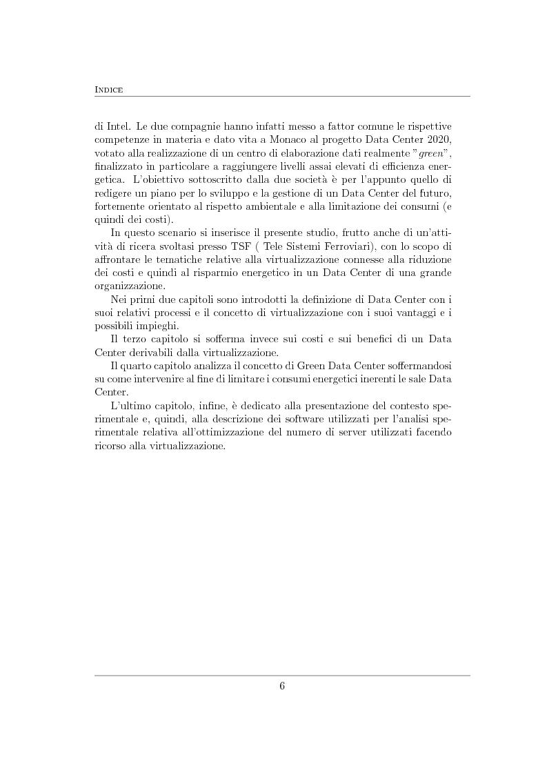 Anteprima della tesi: Virtualizzazione e ottimizzazione di risorse in un data center di una grande organizzazione, Pagina 3
