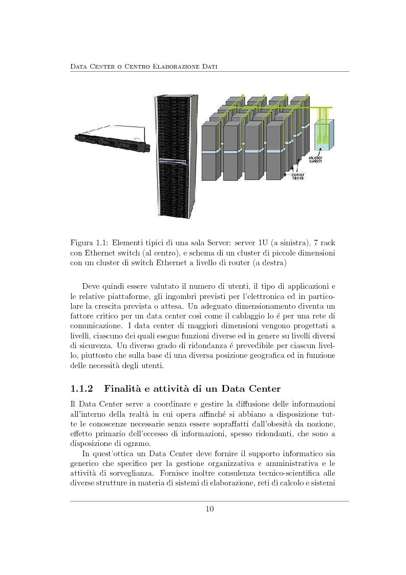 Anteprima della tesi: Virtualizzazione e ottimizzazione di risorse in un data center di una grande organizzazione, Pagina 7