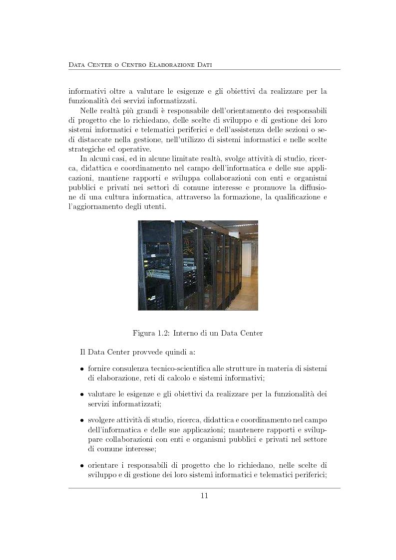Anteprima della tesi: Virtualizzazione e ottimizzazione di risorse in un data center di una grande organizzazione, Pagina 8