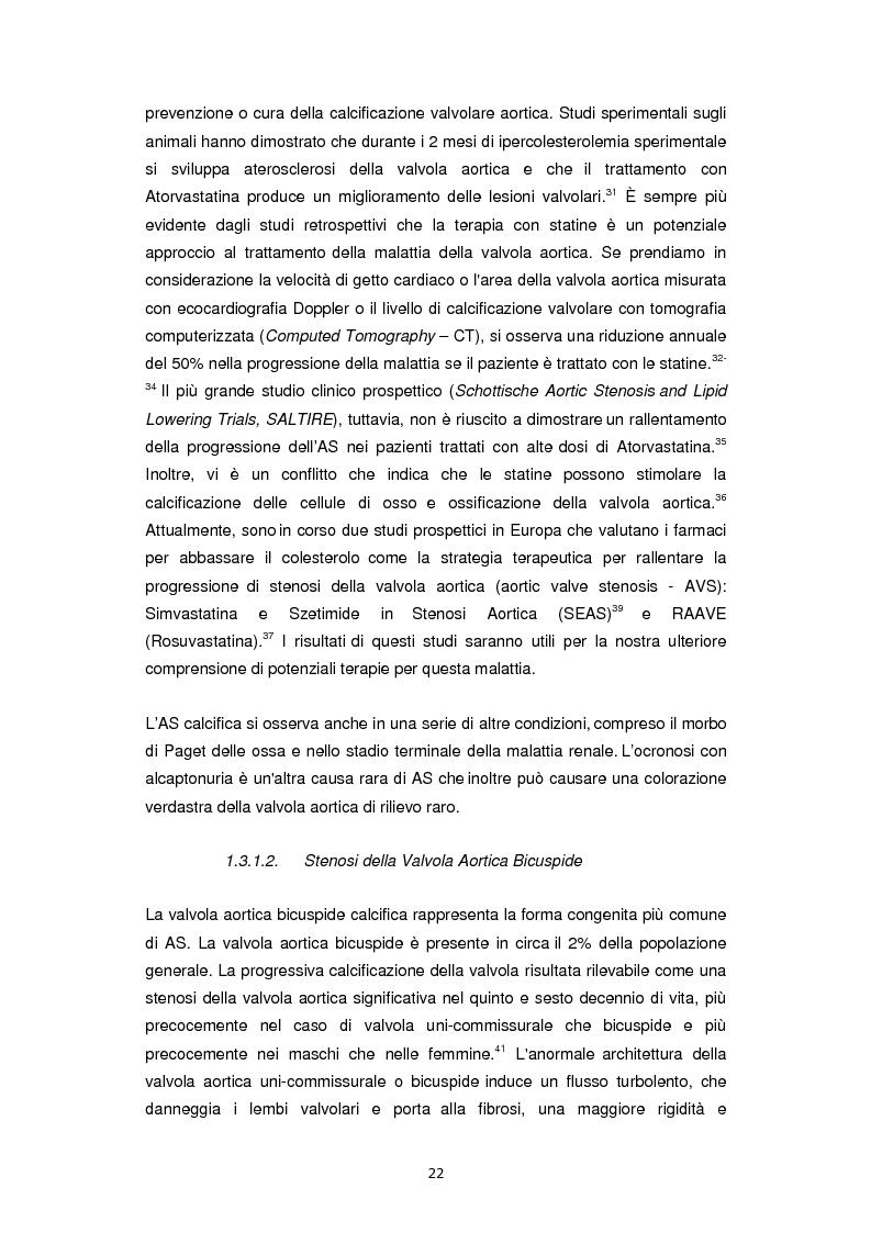 Anteprima della tesi: Nuove frontiere nella chirurgia sostitutiva della valvola aortica, Pagina 14