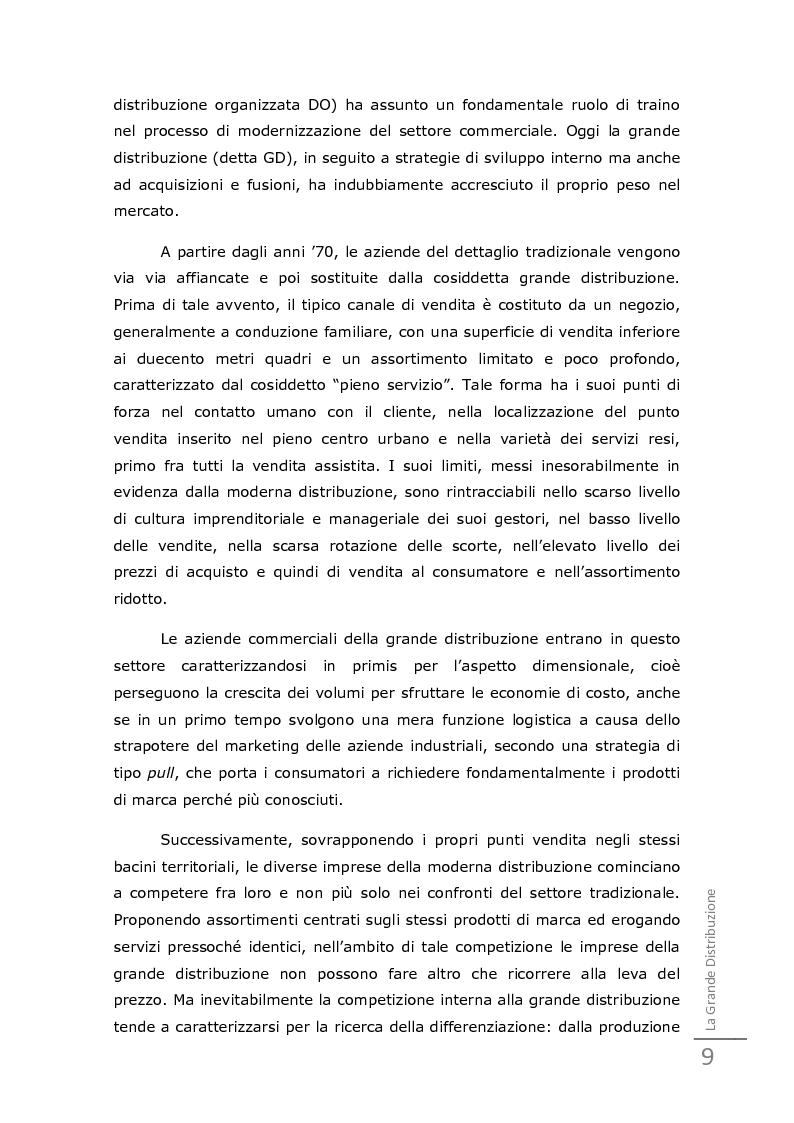 Anteprima della tesi: Da un'innovazione di prodotto ad una distribuzione innovativa: l'out of shelf di Ferrero Gran Soleil, Pagina 13