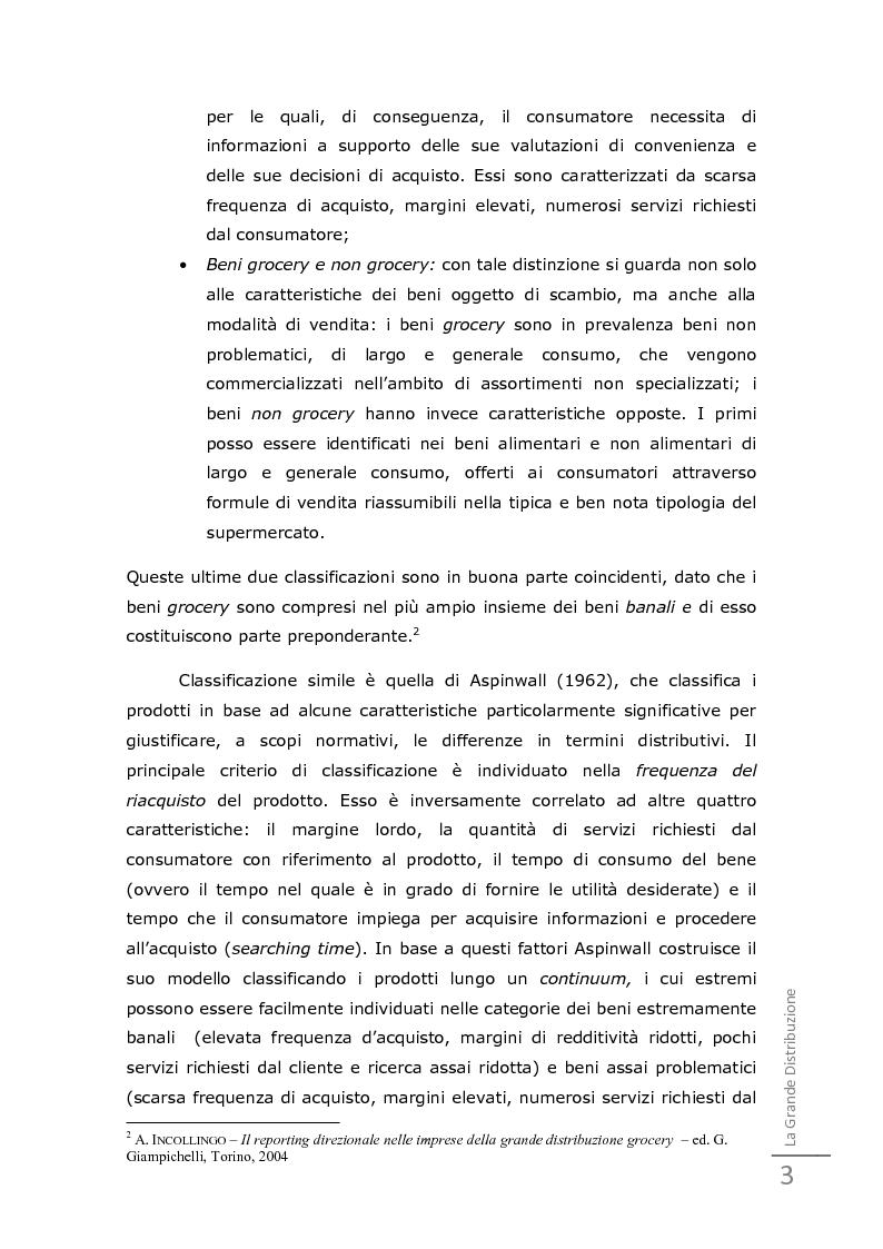 Anteprima della tesi: Da un'innovazione di prodotto ad una distribuzione innovativa: l'out of shelf di Ferrero Gran Soleil, Pagina 7