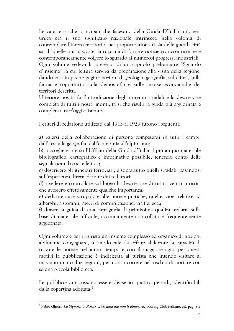 Anteprima della tesi: Alcune forme di scrittura per il turismo a confronto , Pagina 3