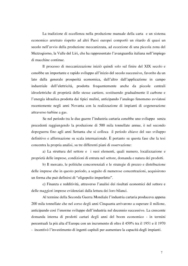 Anteprima della tesi: Tra tradizione e innovazione: l'industria della carta in Italia, Pagina 2
