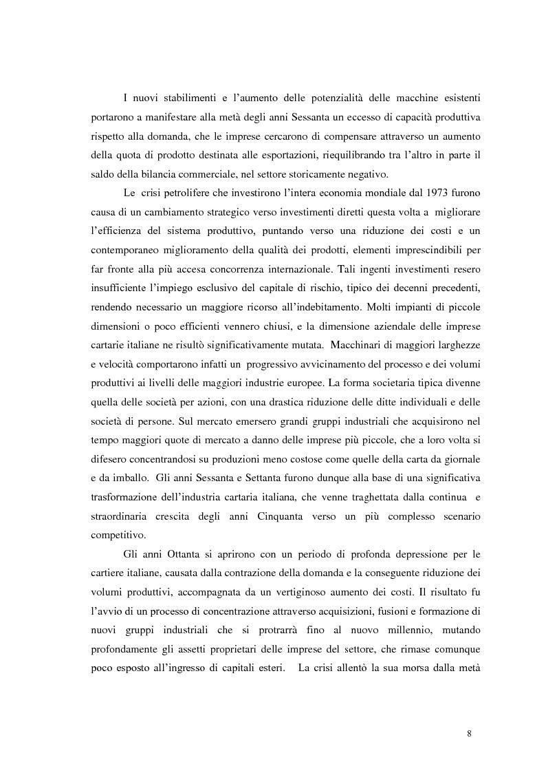 Anteprima della tesi: Tra tradizione e innovazione: l'industria della carta in Italia, Pagina 3