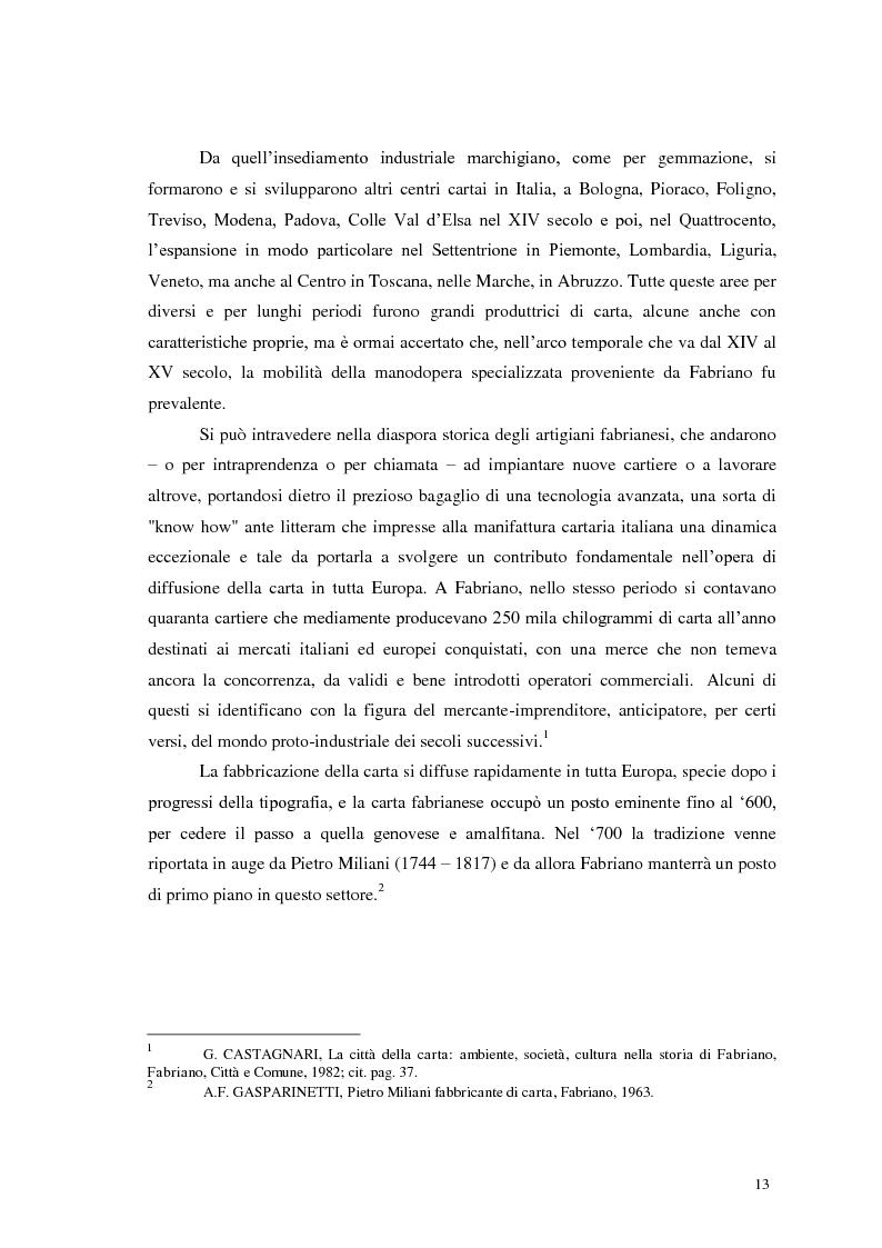 Anteprima della tesi: Tra tradizione e innovazione: l'industria della carta in Italia, Pagina 8
