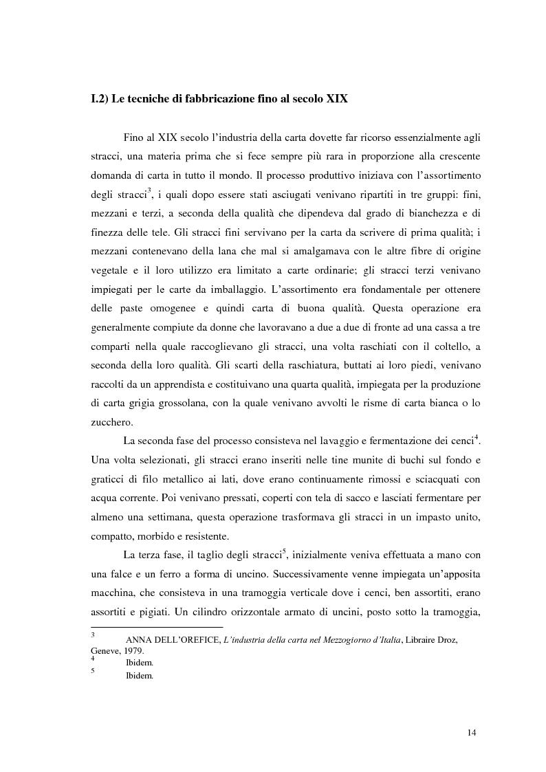 Anteprima della tesi: Tra tradizione e innovazione: l'industria della carta in Italia, Pagina 9
