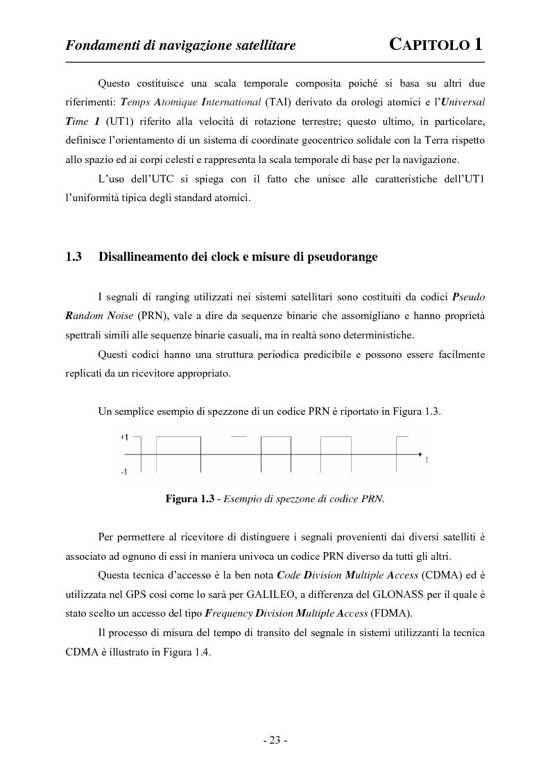 Anteprima della tesi: Analisi ed applicazioni aerospaziali del SIS (Signal In Space) del sistema Galileo, Pagina 13