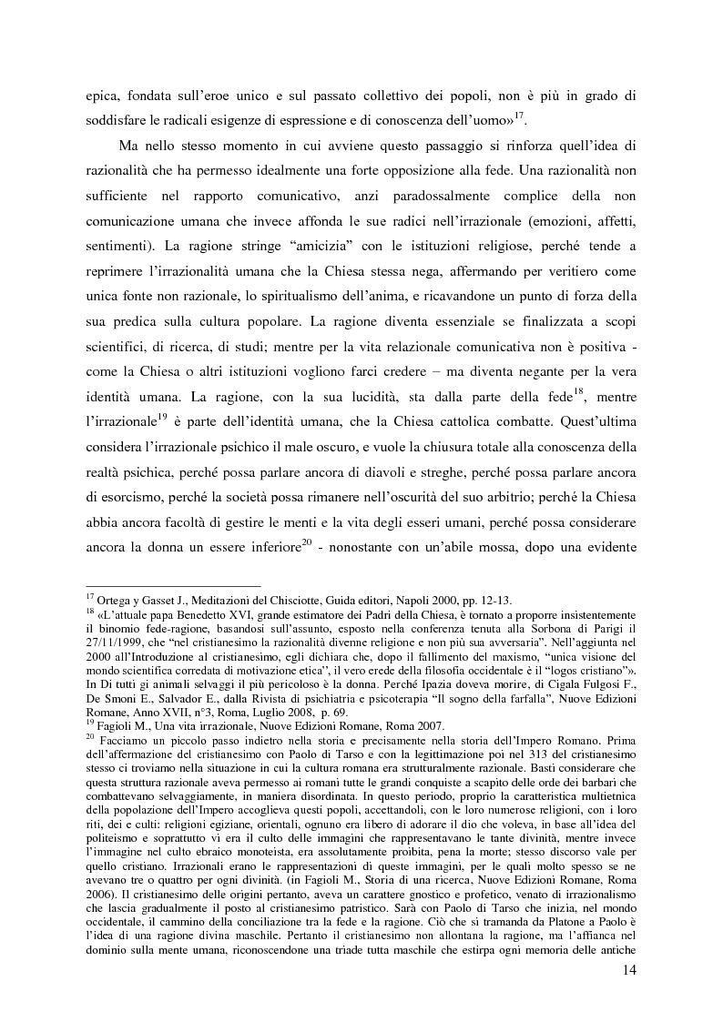Anteprima della tesi: Identità umana, storia, letteratura. Il rapporto docente-studente., Pagina 11