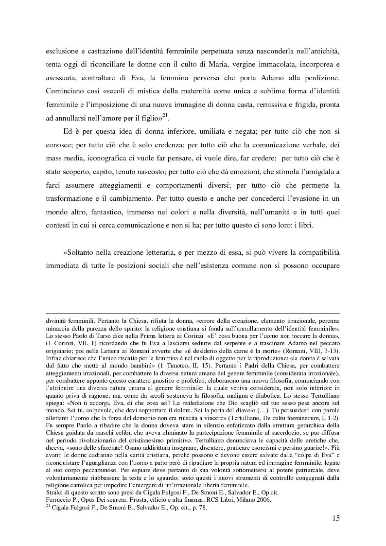 Anteprima della tesi: Identità umana, storia, letteratura. Il rapporto docente-studente., Pagina 12
