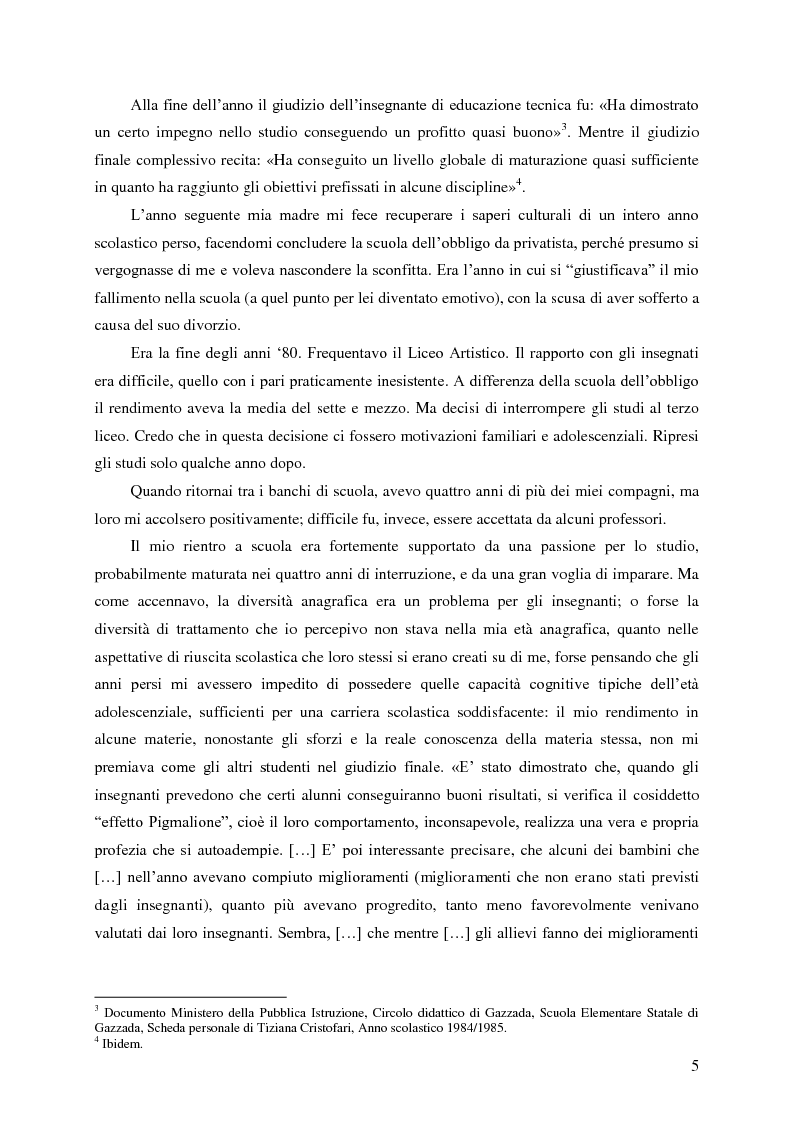 Anteprima della tesi: Identità umana, storia, letteratura. Il rapporto docente-studente., Pagina 2