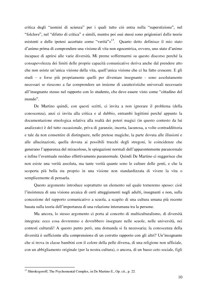 Anteprima della tesi: Identità umana, storia, letteratura. Il rapporto docente-studente., Pagina 7