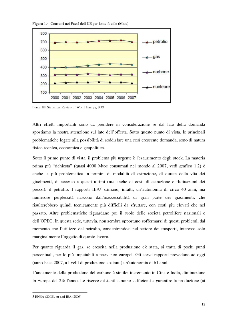 Anteprima della tesi: L'Italia torna al nucleare: elementi critici per la valutazione, Pagina 6