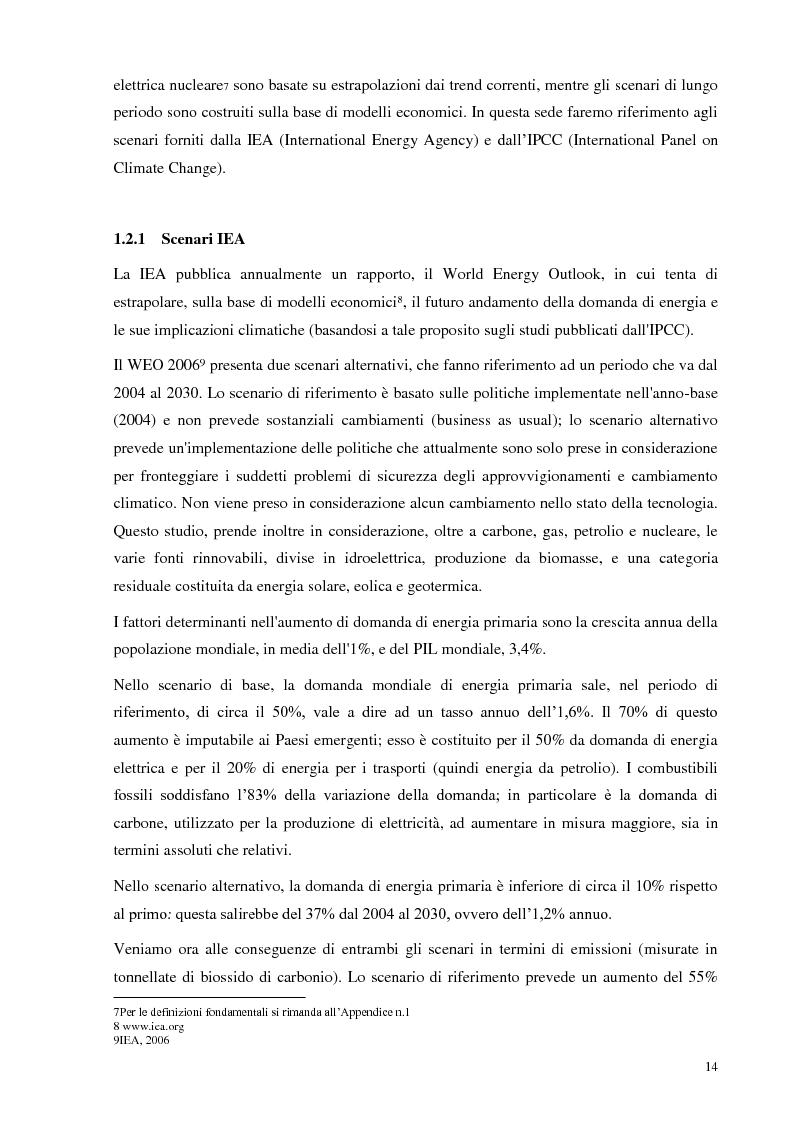 Anteprima della tesi: L'Italia torna al nucleare: elementi critici per la valutazione, Pagina 8