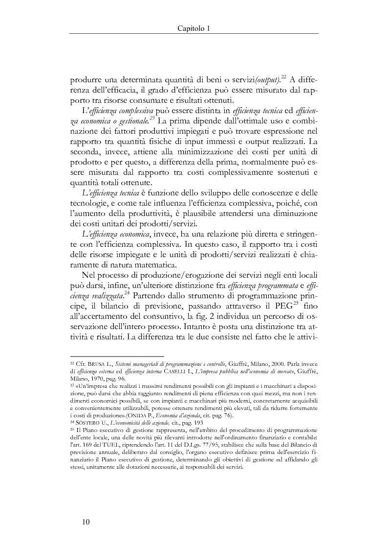 Anteprima della tesi: Il Bilancio sociale negli enti locali. Esperienze a confronto., Pagina 10