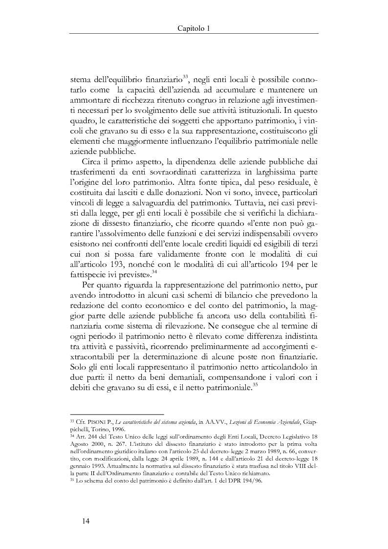Anteprima della tesi: Il Bilancio sociale negli enti locali. Esperienze a confronto., Pagina 14