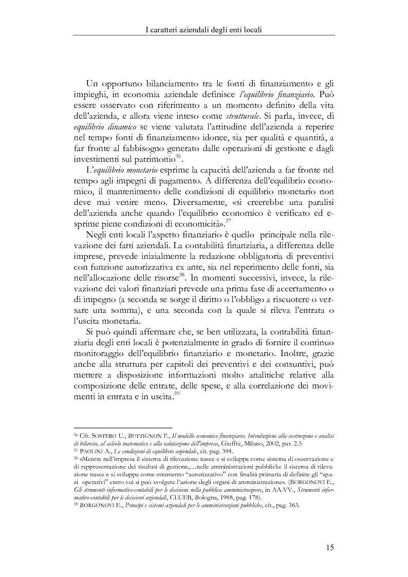 Anteprima della tesi: Il Bilancio sociale negli enti locali. Esperienze a confronto., Pagina 15
