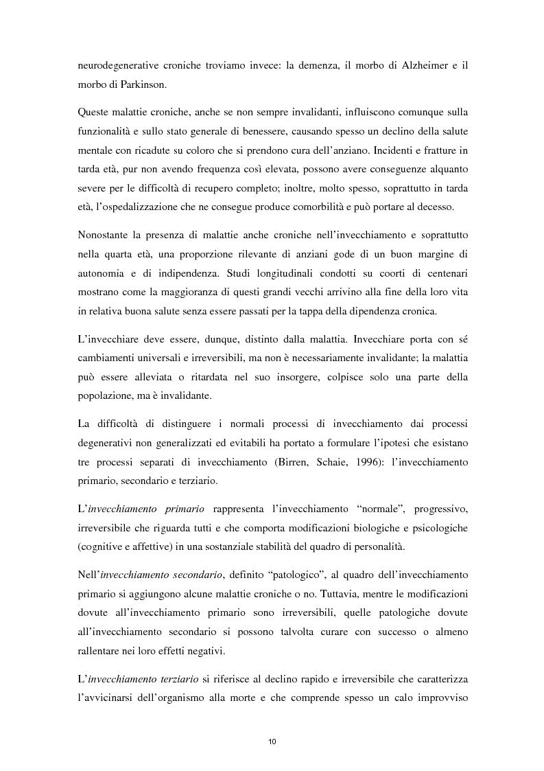 Anteprima della tesi: L'invecchiamento e il ruolo delle emozioni inconsapevoli in un compito di memoria di lavoro, Pagina 11