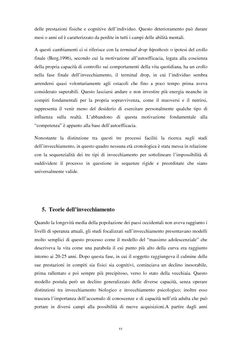 Anteprima della tesi: L'invecchiamento e il ruolo delle emozioni inconsapevoli in un compito di memoria di lavoro, Pagina 12