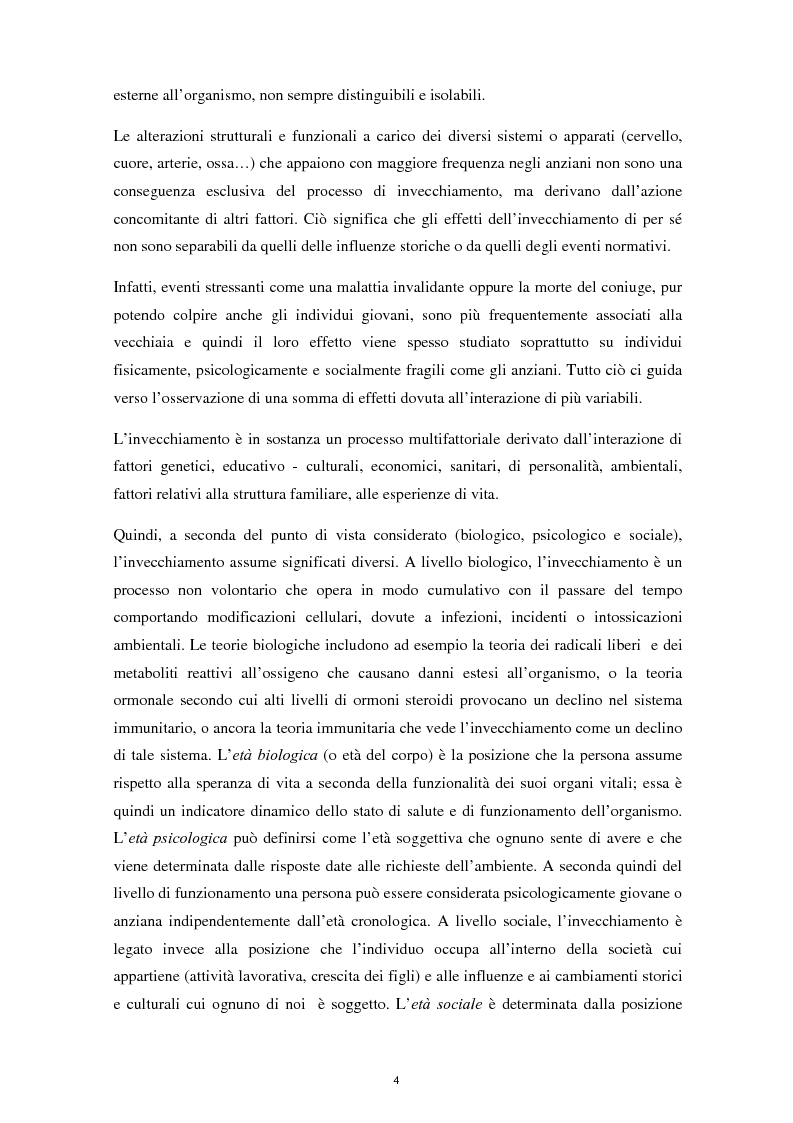 Anteprima della tesi: L'invecchiamento e il ruolo delle emozioni inconsapevoli in un compito di memoria di lavoro, Pagina 5