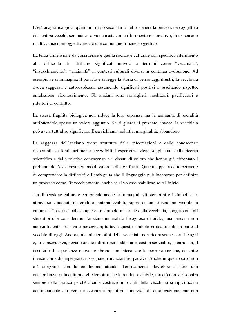 Anteprima della tesi: L'invecchiamento e il ruolo delle emozioni inconsapevoli in un compito di memoria di lavoro, Pagina 8