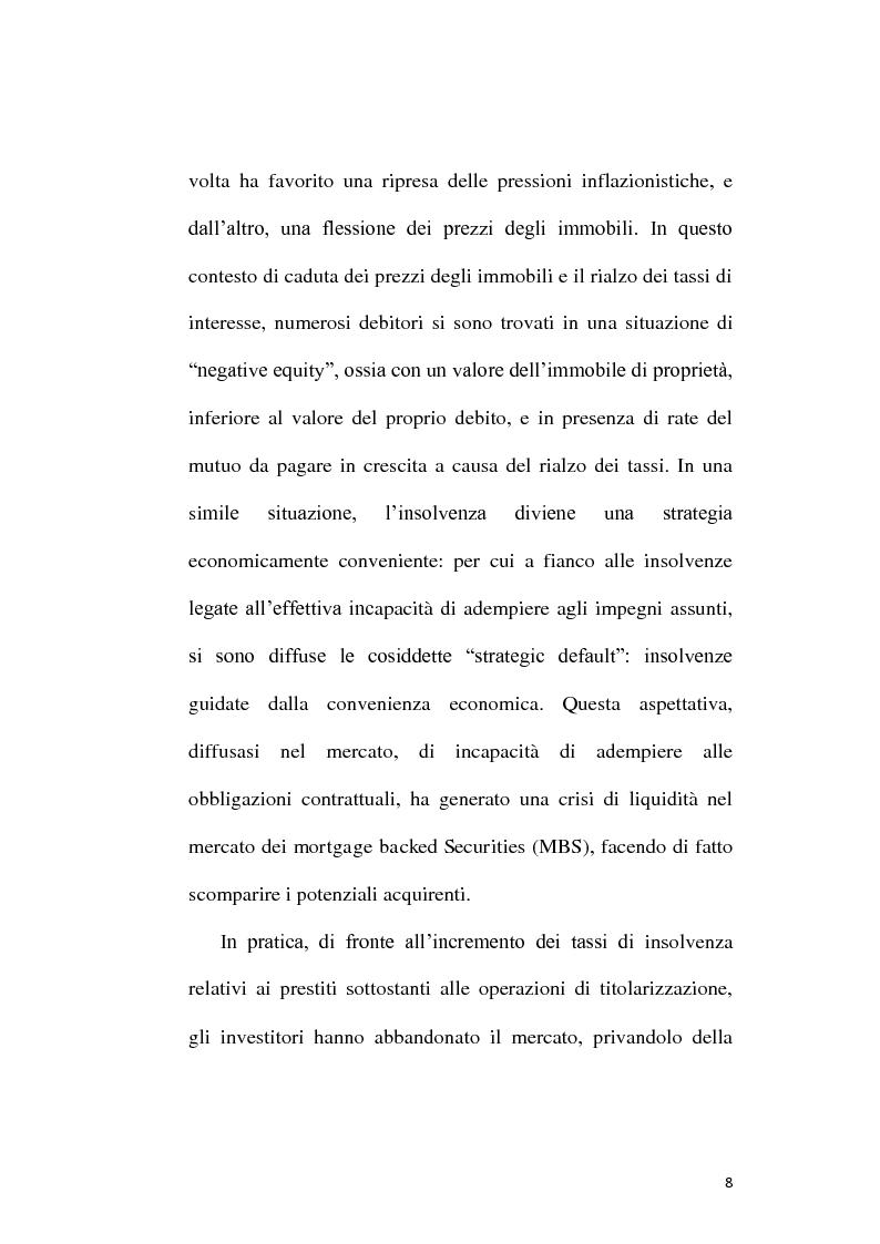 Anteprima della tesi: Il rischio reputazionale. Il caso della Northern Rock, Pagina 6