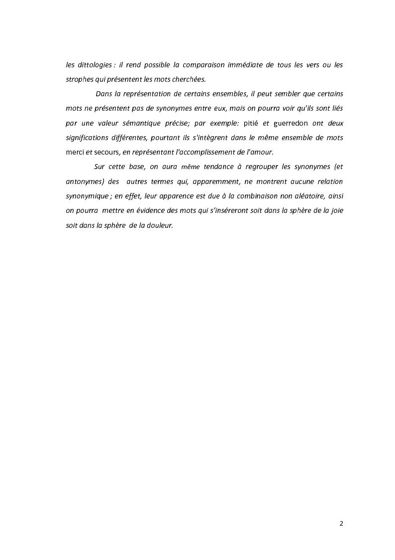 Anteprima della tesi: Le dittologie di joie nella lirica oitanica, Pagina 2