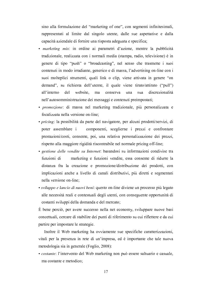 Anteprima della tesi: La promozione internazionale attraverso i siti Web: il caso Barilla, Pagina 15