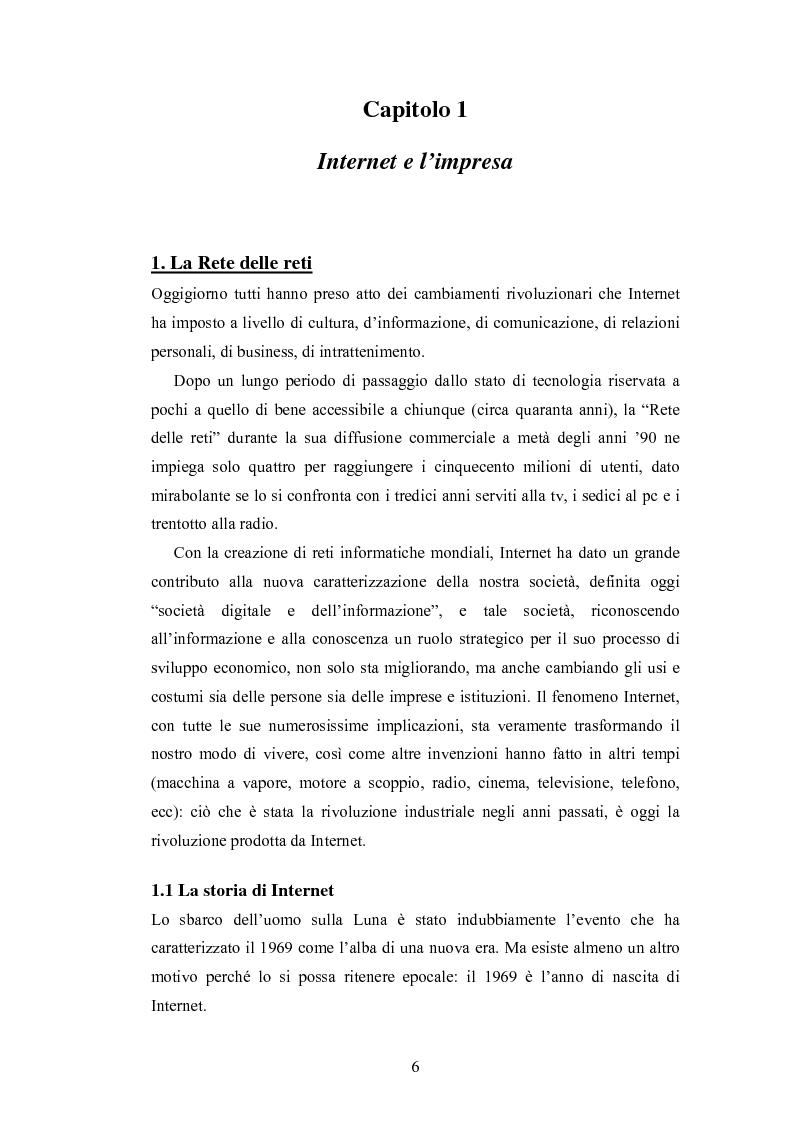 Anteprima della tesi: La promozione internazionale attraverso i siti Web: il caso Barilla, Pagina 4