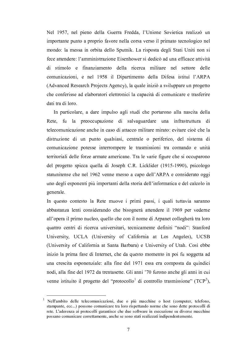 Anteprima della tesi: La promozione internazionale attraverso i siti Web: il caso Barilla, Pagina 5