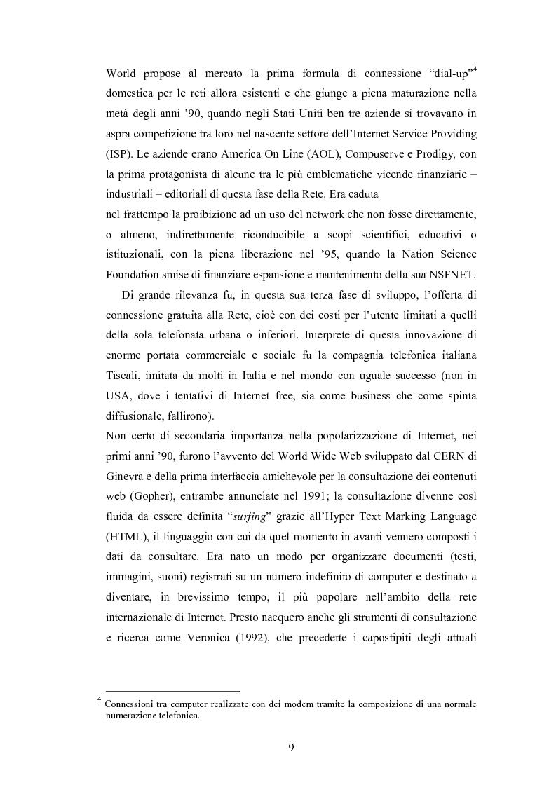 Anteprima della tesi: La promozione internazionale attraverso i siti Web: il caso Barilla, Pagina 7