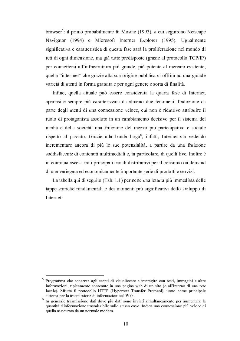 Anteprima della tesi: La promozione internazionale attraverso i siti Web: il caso Barilla, Pagina 8