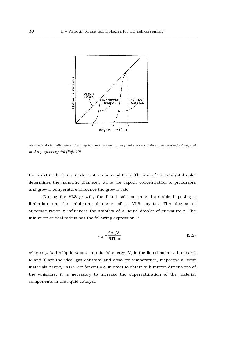 Anteprima della tesi: Au-catalized self-assembly of III-V semiconductor nanowires by metalorganic vapour phase epitaxy, Pagina 8