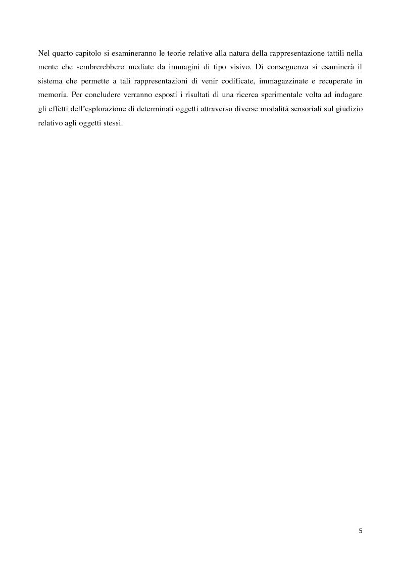 Anteprima della tesi: Marketing multisensoriale: la dimensione tattile, Pagina 2