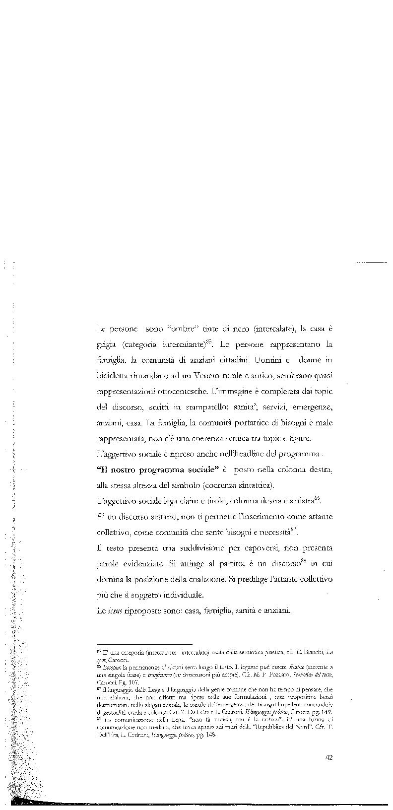 Anteprima della tesi: Strategie di persuasione elettorale durante le regionali 2005 in Veneto, Pagina 12