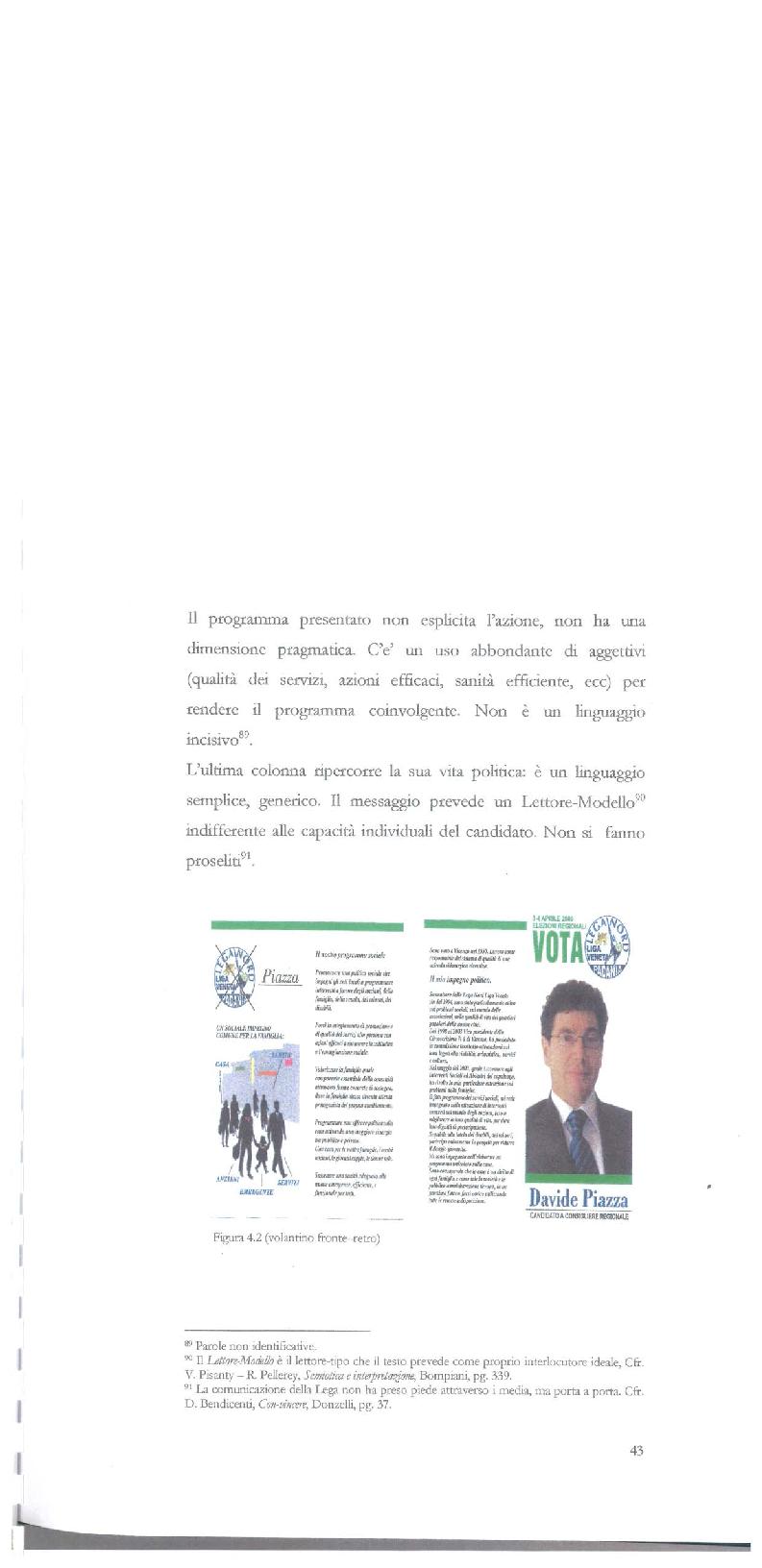 Anteprima della tesi: Strategie di persuasione elettorale durante le regionali 2005 in Veneto, Pagina 13
