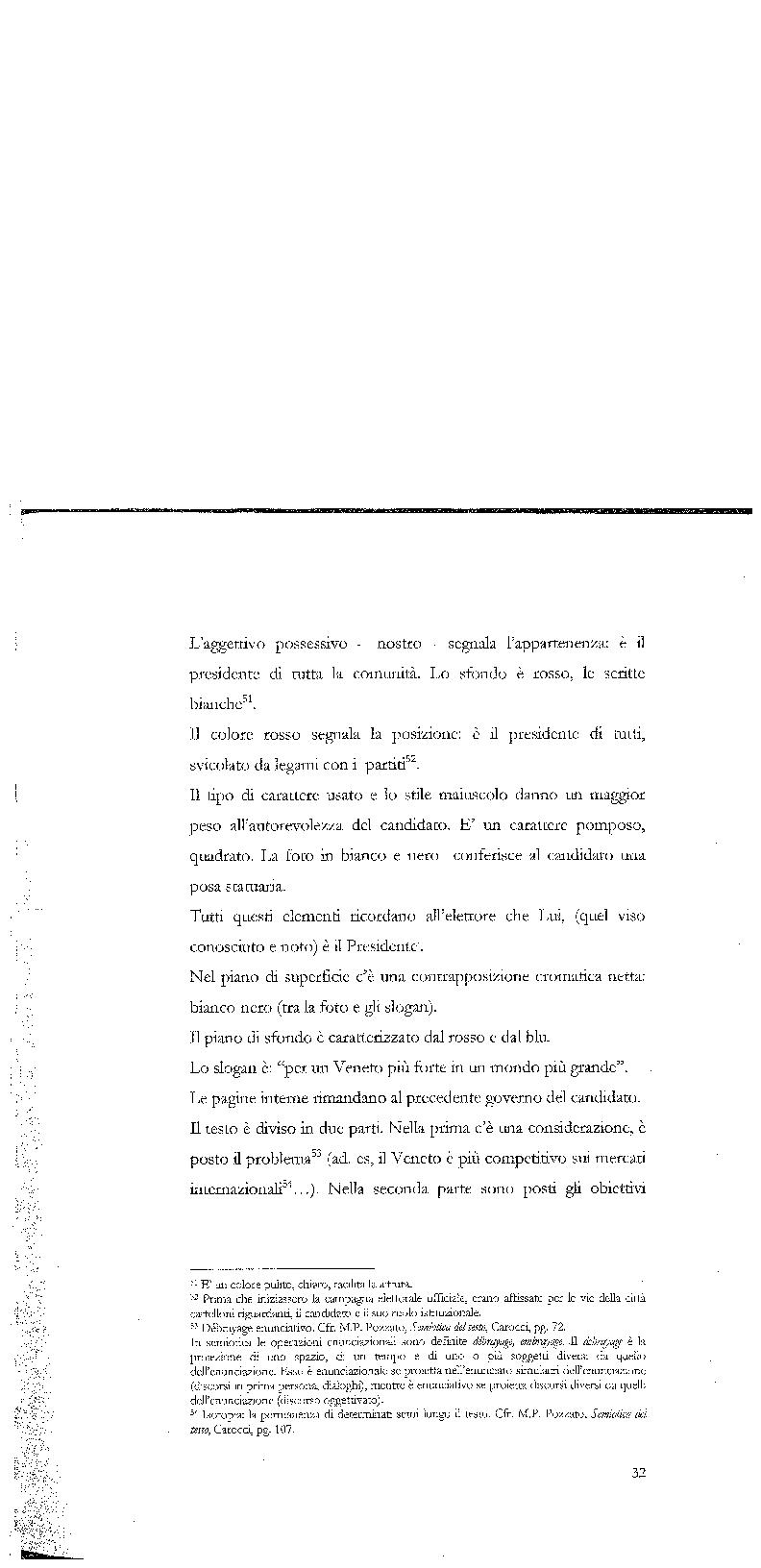Anteprima della tesi: Strategie di persuasione elettorale durante le regionali 2005 in Veneto, Pagina 2