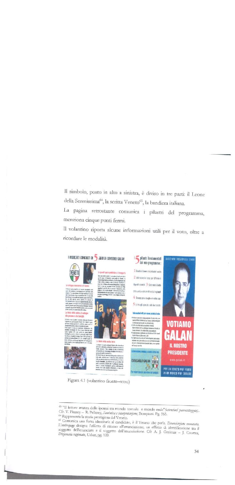 Anteprima della tesi: Strategie di persuasione elettorale durante le regionali 2005 in Veneto, Pagina 4