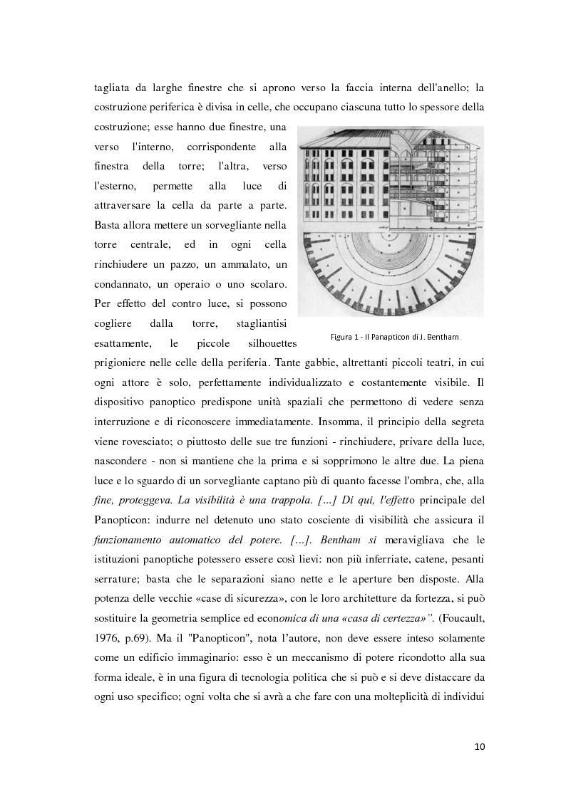 Anteprima della tesi: Tra carcere e territorio: la sperimentazione dell'agente di rete per il reinserimento sociale dei detenuti. L'esperienza della casa circondariale di Bergamo., Pagina 9