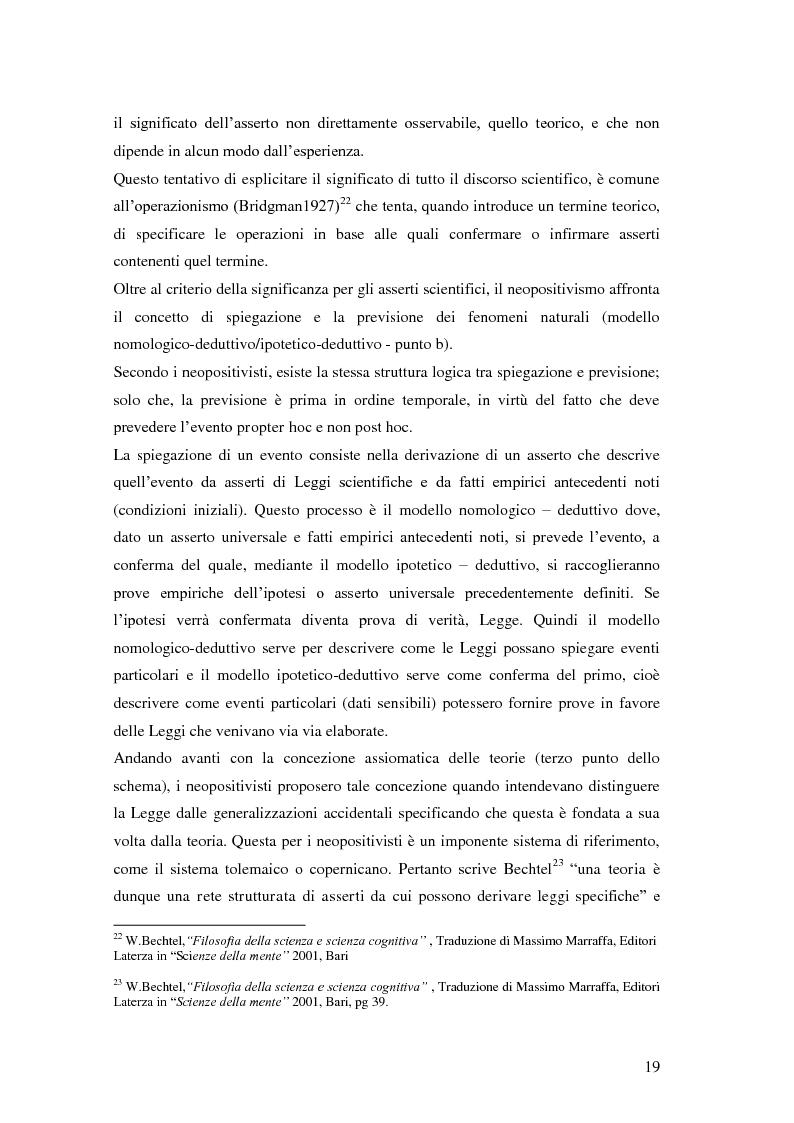 Anteprima della tesi: Rilievi epistemologici e metodologici della valutazione dell'efficacia in ambito socio-sanitario e una ricerca empirica in Sert di due regioni italiane, Pagina 12