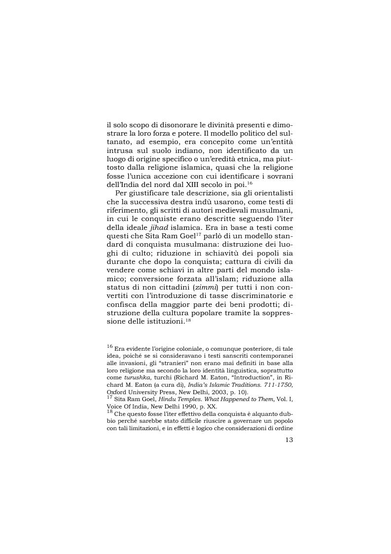 Anteprima della tesi: Ramjanmabhumi: mito, religione, storia e politica, Pagina 15