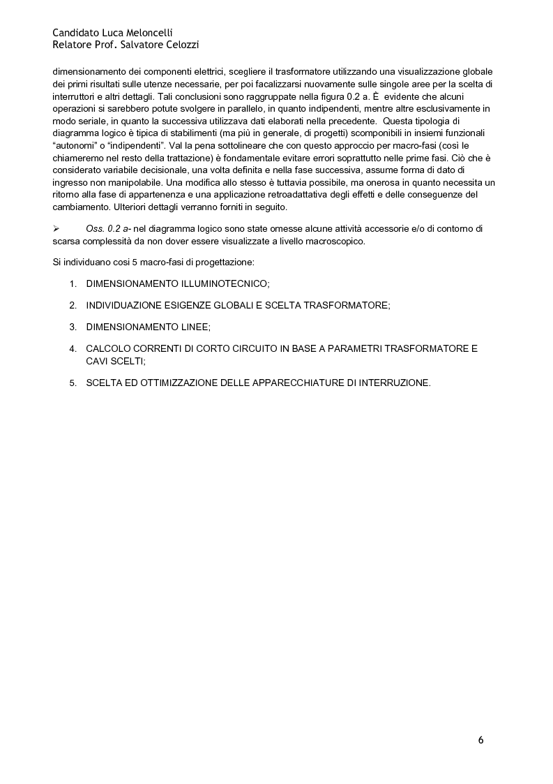 Anteprima della tesi: Design of the Electrical and Lighting systems of a sport centre: planning and management, Pagina 3