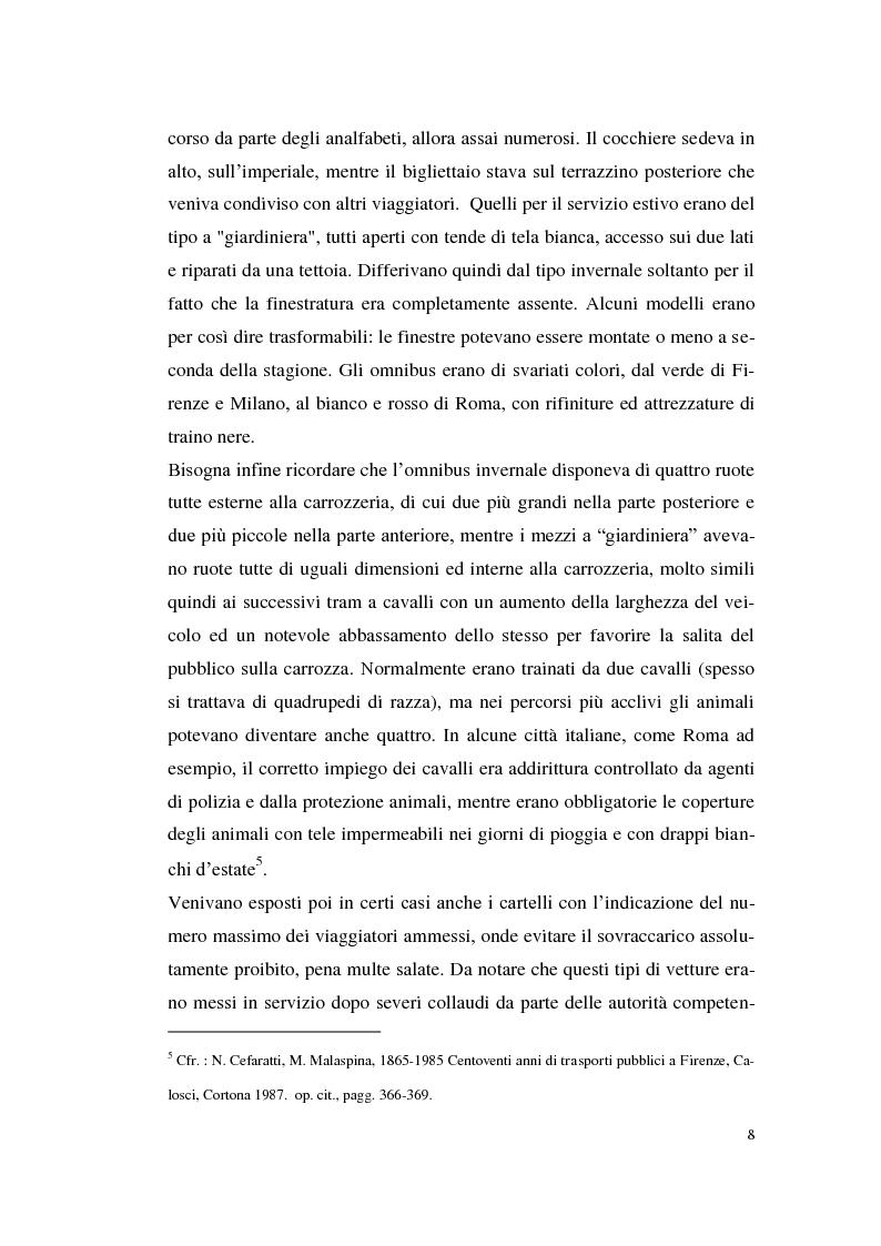 Anteprima della tesi: Le imprese di pubblici trasporti locali - Problematiche di finanziamento dello sviluppo, Pagina 5