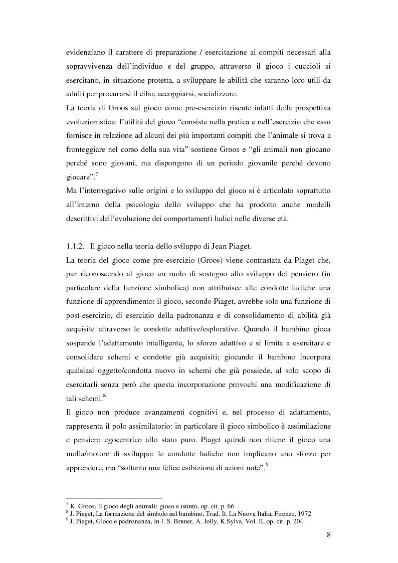 Anteprima della tesi: Forme e metodi del gioco didattico nella scuola primaria, Pagina 4