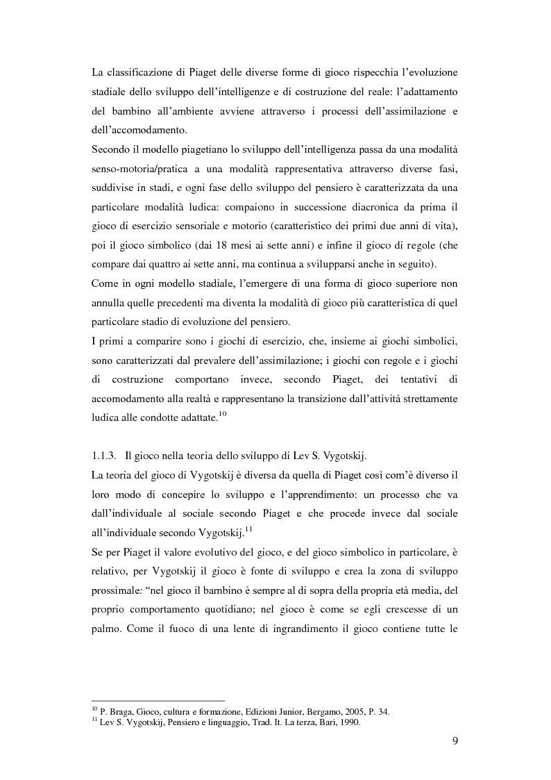 Anteprima della tesi: Forme e metodi del gioco didattico nella scuola primaria, Pagina 5