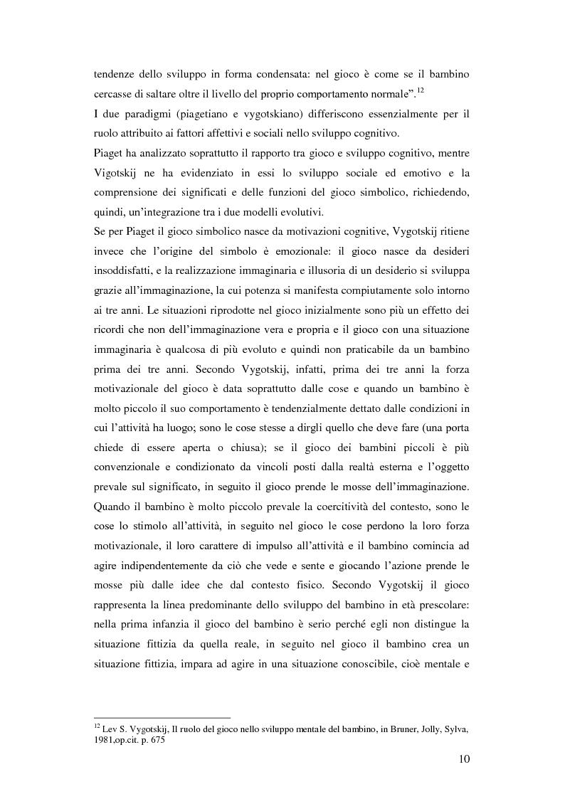 Anteprima della tesi: Forme e metodi del gioco didattico nella scuola primaria, Pagina 6